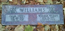 Emma <I>Perry</I> Williams
