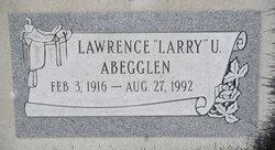 """Lawrence Ulrich """"Larry"""" Abegglen"""