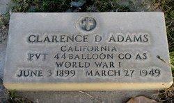 Clarence D. Adams