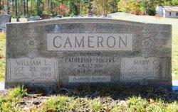 Catherine <I>Cameron</I> Rogers