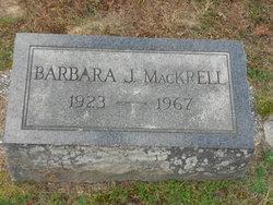 Barbara J MacKrell