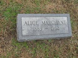 Alice Marchant
