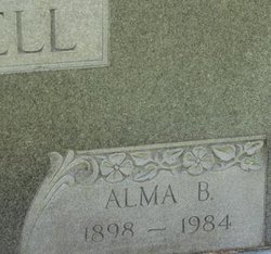 Alma B Caldwell
