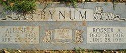 Allene P Bynum