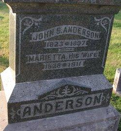 Marietta Anna <I>Jacoby</I> Anderson