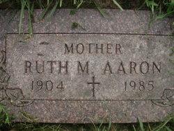 Ruth M Aaron