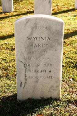 Wyonia <I>Redd</I> Hardy