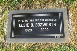 Elsie B. <I>Jones</I> Bozworth