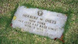 Pvt Herbert W Diets