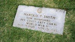 Pvt Harold T Smith