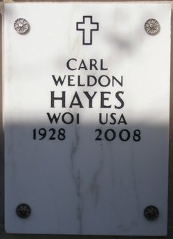 WO Carl Weldon Hayes