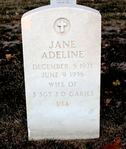 Jane Adeline Garies