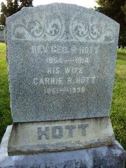 Rev George Peter Hott