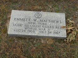 LCDR Emmet W Matthews