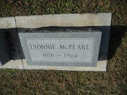 Lyonnie E McPeake