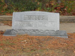 Pansy Virginia <I>Hudgins</I> Miles