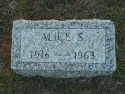 Alice S Noble