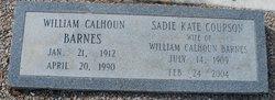 Sadie Kate <I>Courson</I> Barnes