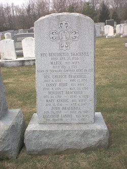 """Rev Benedictus M. """"Benedict"""" Brackbill"""