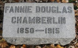 Fannie <I>Douglas</I> Chamberlain