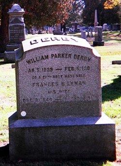 """Frances Burt """"Fannie"""" <I>Lyman</I> Derby"""