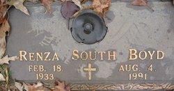 Renza <I>South</I> Boyd
