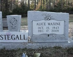 Alice Maxine <I>McGoogan</I> Stegall