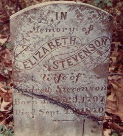 Elizabeth <I>Moorhead</I> Stevenson