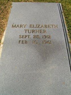 Mary Elizabeth Turner