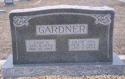 Lillie Ada <I>Bland</I> Gardner