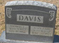 Mary Etta <I>Tinsley</I> Davis