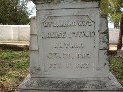 Louise <I>Stowe</I> Amthor