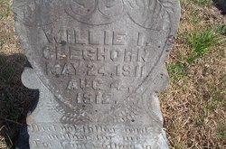 Willie Irene Cleghorn