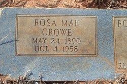 Rosa Mae <I>Brown</I> Crowe