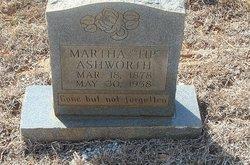 """Martha """"Tip"""" Ashworth"""