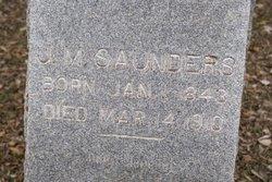 J. M. Saunders