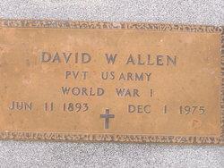 David W Allen