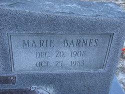 Marie <I>Barnes</I> Hendley