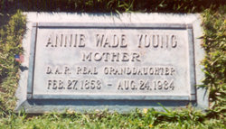 Annie Marshall <I>Wade</I> Young