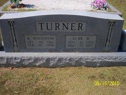 Ruby W Turner