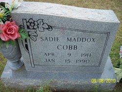 Sadie <I>Maddox</I> Cobb