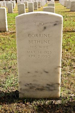 Corrine <I>Bethune</I> Ackerman