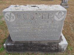 Mary Ella <I>Rodgers</I> Cooper