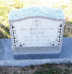 Abe Washington Alsup
