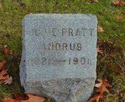 Olive <I>Pratt</I> Andrus