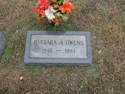 Barbara A Owens