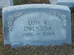 Leon M Owens, Sr