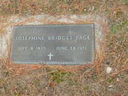 Josephine <I>Bridges</I> Page