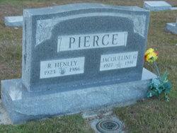 Jacqueline <I>Greene</I> Pierce