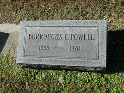 Burrough E Powell